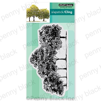 Penny Black Cling Stamp ARBORS 40 747 Preview Image