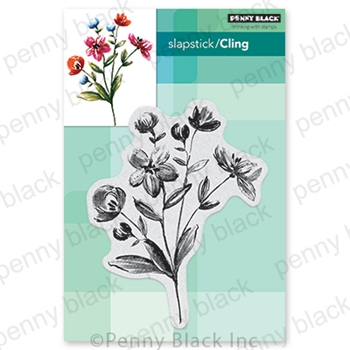 Penny Black Cling Stamp GARDEN VARIETY 40 744