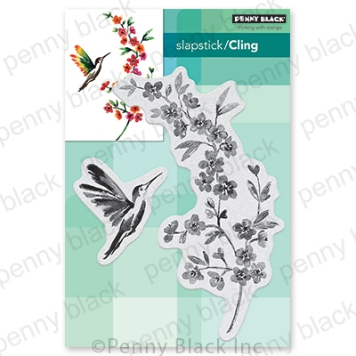 Penny Black Cling Stamp FLYING COLORS 40 739 zoom image