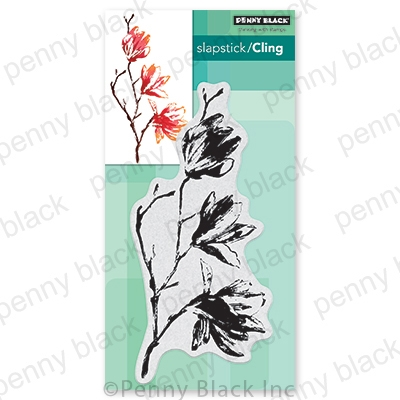 Penny Black Cling Stamp ENTRANCED 40 728 Preview Image