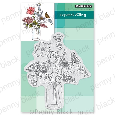 Penny Black Cling Stamp SWEET CENTERPIECE 40 727 Preview Image