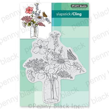 Penny Black Cling Stamp SWEET CENTERPIECE 40 727