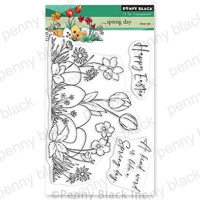 Penny Black Clear Stamps SPRING DAY 30 805 Preview Image