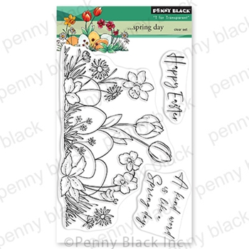 Penny Black Clear Stamps SPRING DAY 30 805