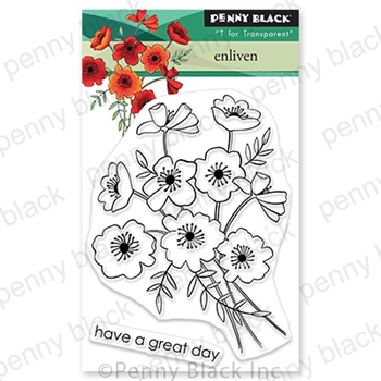 Penny Black Clear Stamps ENLIVEN 30 705