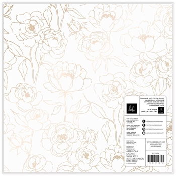 American Crafts Heidi Swapp CARE FREE 12 x 12 Specialty Paper 315674