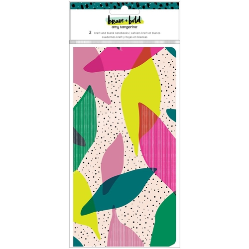 American Crafts Amy Tangerine BRAVE AND BOLD NOTEBOOKS 34002119* Preview Image