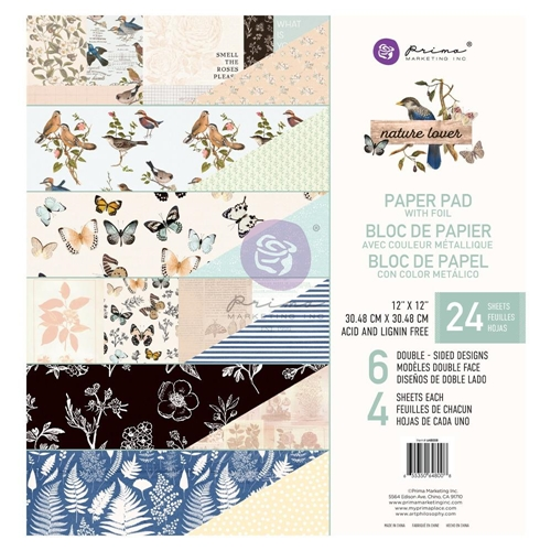 Prima Marketing NATURE LOVER 12 x 12 Paper Pad 648008* Preview Image
