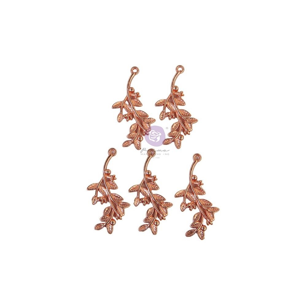 Prima Marketing WATERCOLOR FLORAL Metal Charms 651589* zoom image