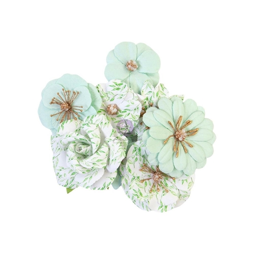 Prima Marketing MINTY WATER Watercolor Floral Flowers 653132 Preview Image