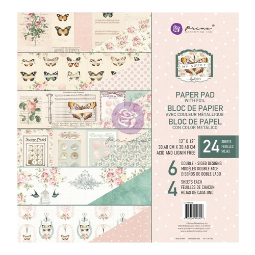 Prima Marketing MY SWEET 12 x 12 Paper Pad 996956 Preview Image