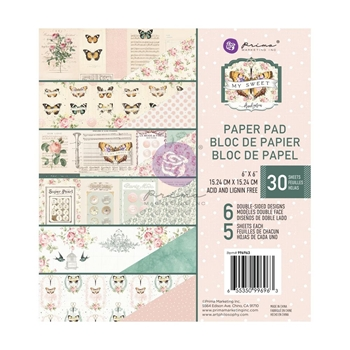 Prima Marketing MY SWEET 6 x 6 Paper Pad 996963