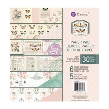 Prima Marketing MY SWEET 8 x 8 Paper Pad 996970