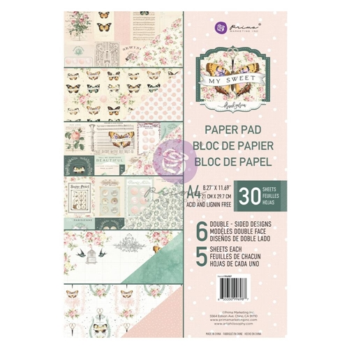 Prima Marketing A4 Paper Pad MY SWEET 996987 Preview Image