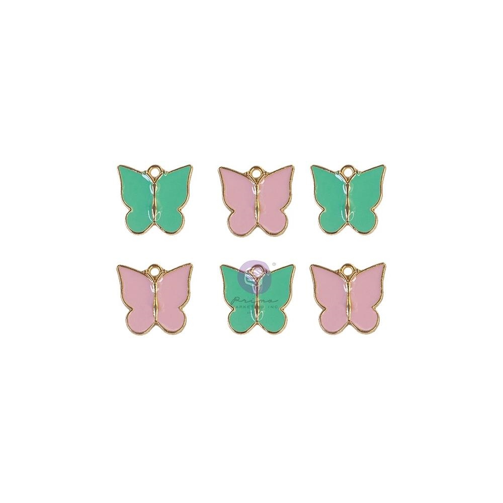 Prima Marketing MY SWEET Butterfly Enamel Charms 997021 zoom image