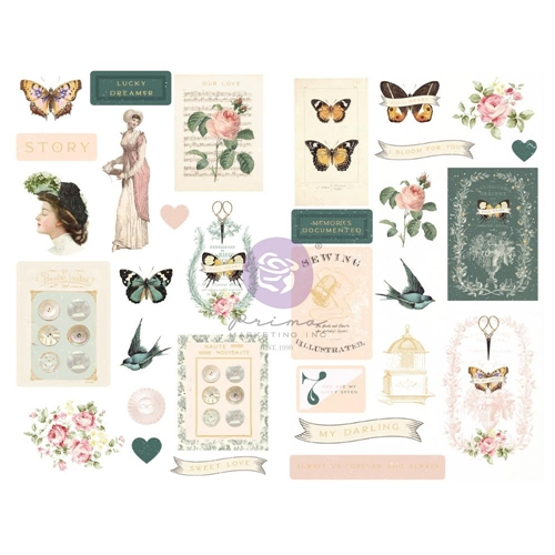 Prima Marketing MY SWEET Chipboard Stickers 997038 Preview Image