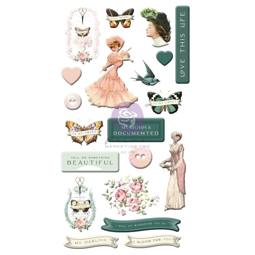Prima Marketing MY SWEET Puffy Stickers 997076* Preview Image