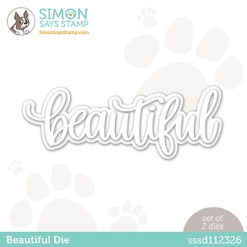 Simon Says Stamp BEAUTIFUL Wafer Dies sssd112326