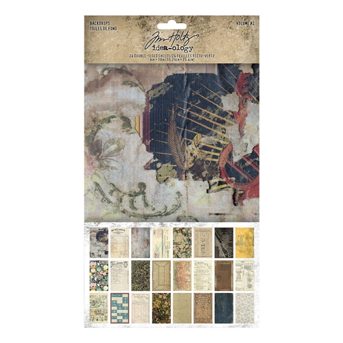 Tim Holtz Idea-ology BACKDROPS VOLUME 2 th94118 Preview Image