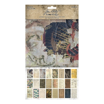 RESERVE Tim Holtz Idea-ology BACKDROPS VOLUME 2 th94118