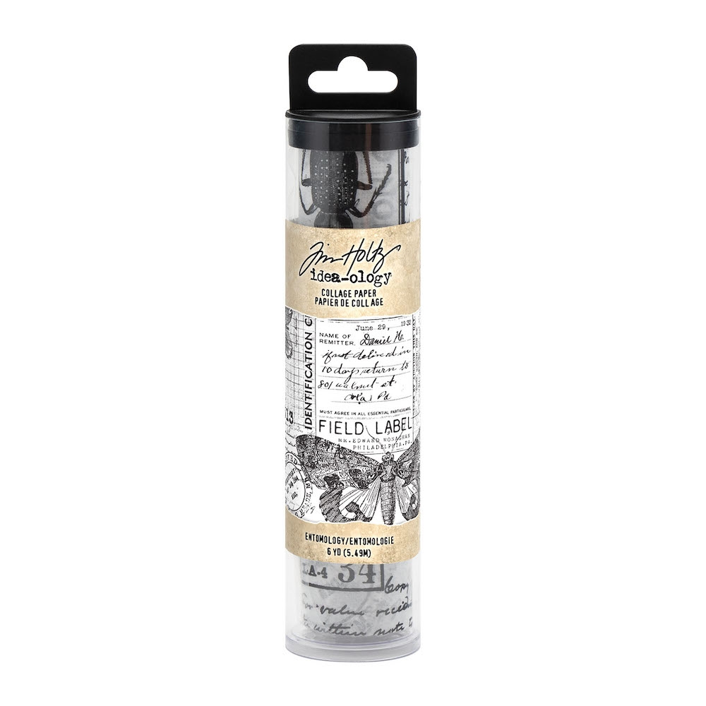 Tim Holtz Idea-ology ENTOMOLOGY Collage Paper th94120 zoom image