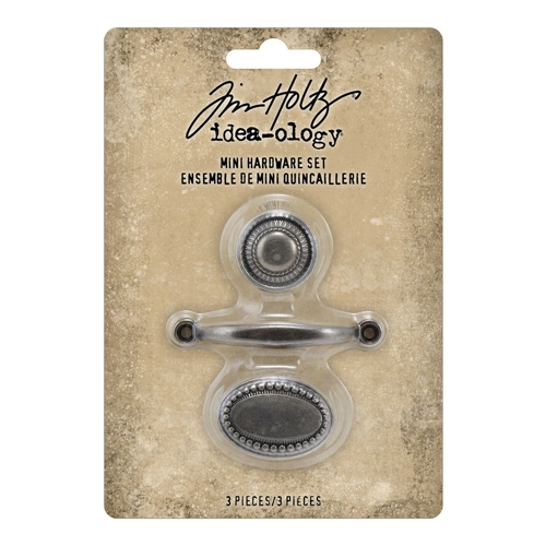 Tim Holtz Idea-ology MINI HARDWARE SET Handle and Knobs th94123 Preview Image