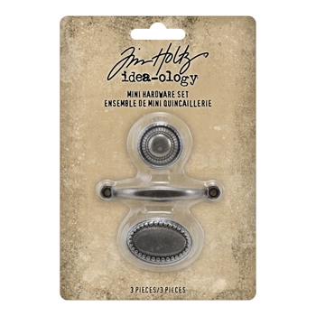 Tim Holtz Idea-ology MINI HARDWARE SET Handle and Knobs th94123