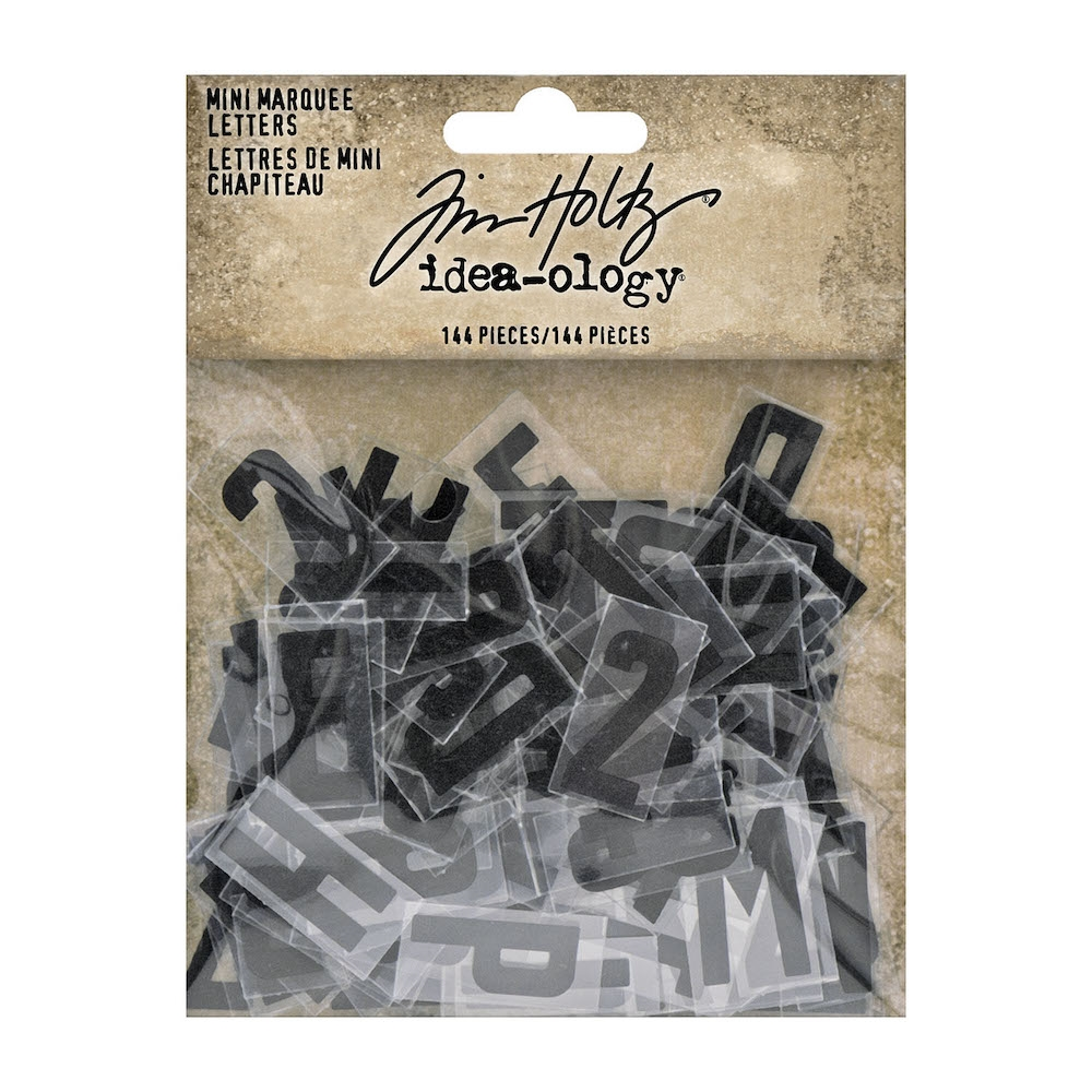 Tim Holtz Idea-ology MINI MARQUEE LETTERS th94127 zoom image