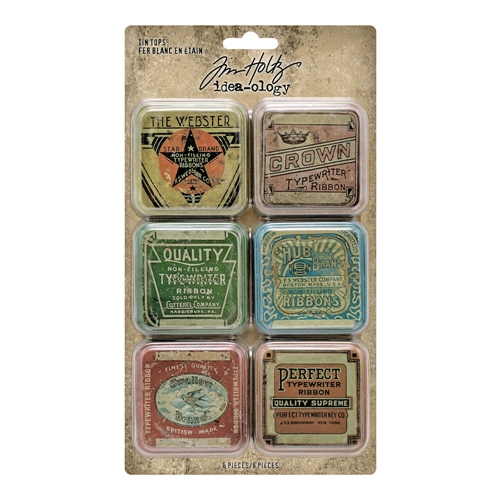 Tim Holtz Idea-ology TIN TOPS Embellishments th94128 Preview Image
