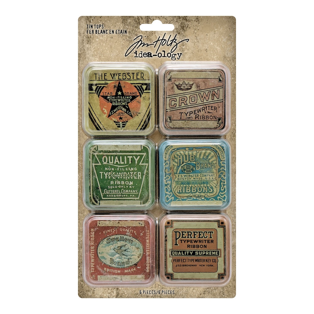 Tim Holtz Idea-ology TIN TOPS Embellishments th94128 zoom image