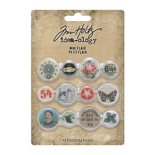 Tim Holtz Idea-ology MINI FLAIR Embellishments th94129 Preview Image