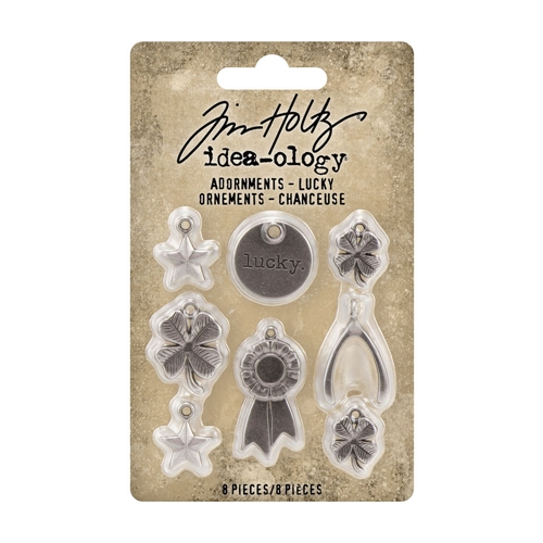 Tim Holtz Idea-ology LUCKY Adornments th94131 Preview Image