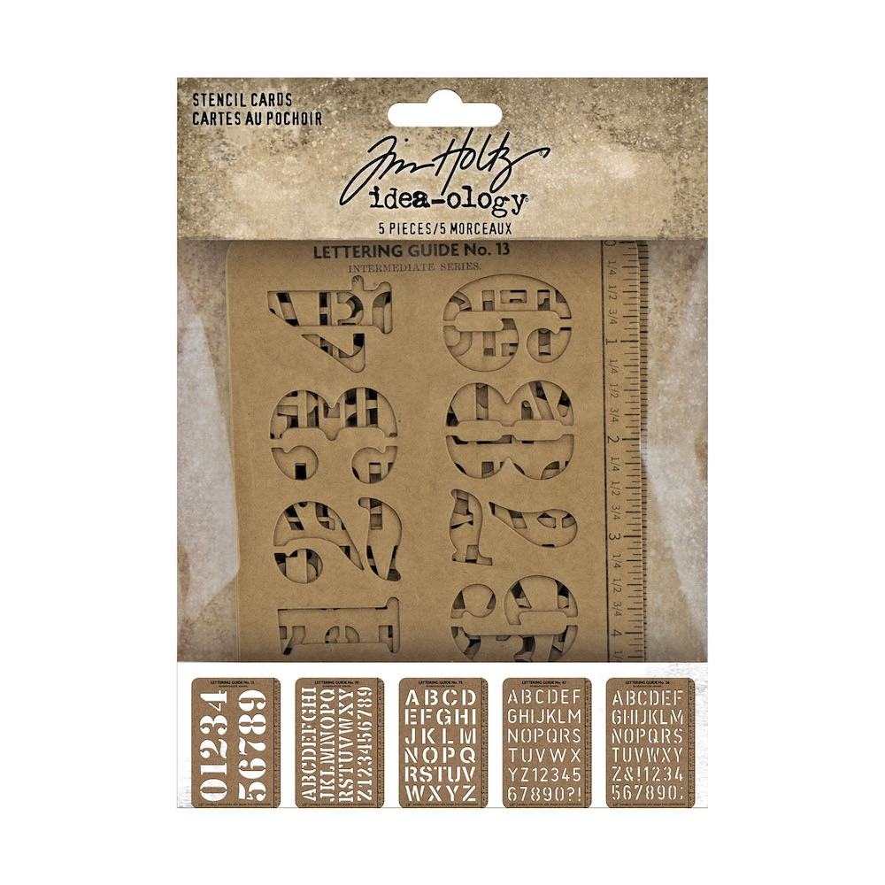 Tim Holtz Idea-ology STENCIL CARDS th94135 zoom image