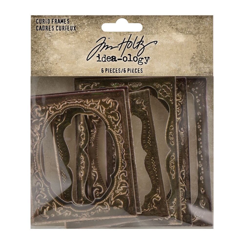 Tim Holtz Idea-ology CURIO FRAMES th94136 zoom image