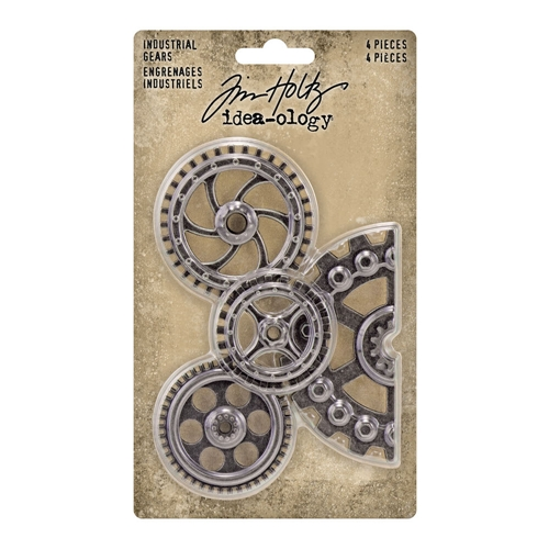 Tim Holtz Idea-ology INDUSTRIAL GEARS Embellishments th94142 Preview Image