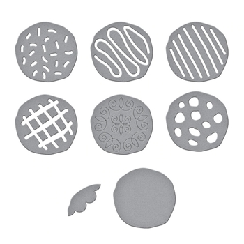 S4 1096 Spellbinders THE COOKIE CORNER Etched Dies