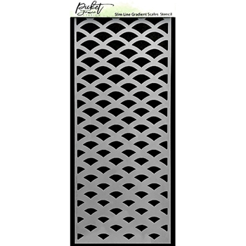 Picket Fence Studios GRADIENT Slim Line Stencil sc240