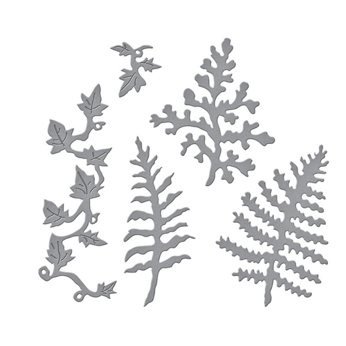 S4 1086 Spellbinders FERNS AND IVY Etched Dies Preview Image