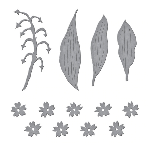 S4 1085 Spellbinders LILY OF THE VALLEY Etched Dies Preview Image