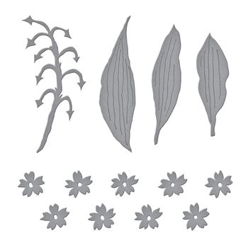 S4 1085 Spellbinders LILY OF THE VALLEY Etched Dies