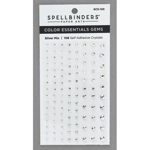 SCS 130 Spellbinders SILVER MIX Color Essential Gems  Preview Image