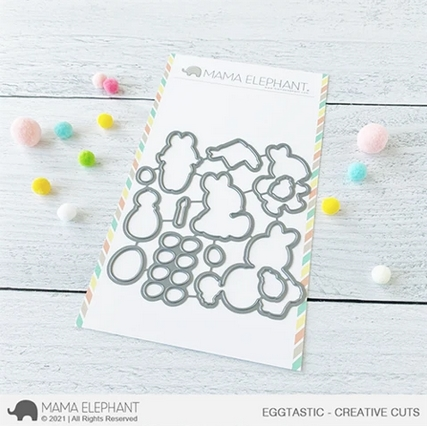 Mama Elephant EGGTASTIC Creative Cuts Steel Dies Preview Image