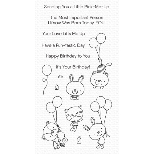 My Favorite Things BALLOON BESTIES Clear Stamps cs544 Preview Image