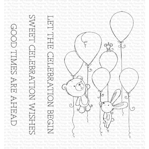 My Favorite Things SWEET CELEBRATION Clear Stamps ram008 Preview Image