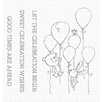 My Favorite Things SWEET CELEBRATION Clear Stamps ram008
