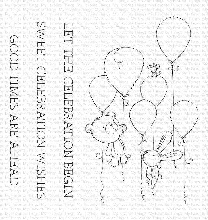 My Favorite Things SWEET CELEBRATION Clear Stamps ram008 zoom image