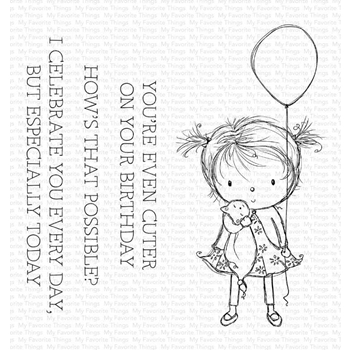 My Favorite Things BIRTHDAY CUTIE Clear Stamps ram007