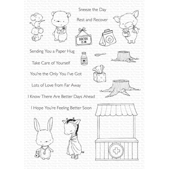 My Favorite Things FEEL BETTER Clear Stamps sy29*