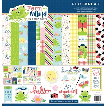 PhotoPlay FERN AND WILLARD 12 x 12 Collection Pack fer2612