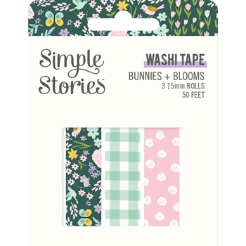 Simple Stories BUNNIES AND BLOOMS Washi Tape 14623*